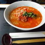 スカイレストラン グリーンズカフェ - 四川風担々麺