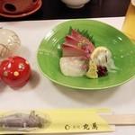 魚処丸萬 - 宴会会席1(刺身)
