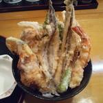 37258796 - 海鮮天丼、1200円(税込)