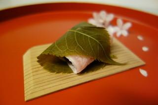 嘯月 - 桜餅