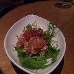 PIZZA SALVATORE CUOMO & BAR 新宿 - 鶏肉のわさび醤油ソース