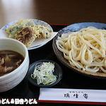 37260059 - 肉汁うどん+天ぷら