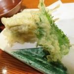 魚道 - 稚鮎の天ぷら☆