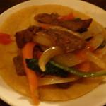 メキシカン・バー ソル・マリアッチ - 牛ステーキのファフィータ