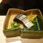 京都 瓢斗 - お造り、一、初鰹たたき藁燻し