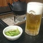 にっぽんの洋食 江戸一 - 2014/03/19 11:55訪問 生ビール\600