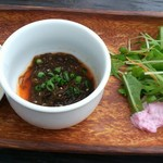 島野菜カフェ Re:Hellow BEACH - ランチセットには前菜がつきます