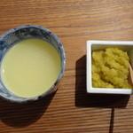 とり田 - スープ