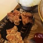 味噌乃家 - 唐揚げセット(250円)
