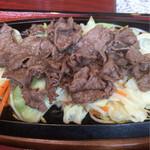 ぎゅーぎゅー亭 - 芦北牛の焼肉定食です(^^)