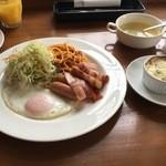 ノースカントリー - 料理写真:朝食セット