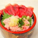 沖ちゃん - 鮪ネギトロ丼