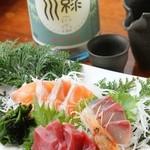 旬鮮魚おまかせ3種盛り