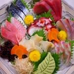 酒彩 羽々和 - 料理写真:新鮮刺身盛り合わせ
