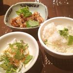 プラチナバード横浜 - ホルモン炒め定食