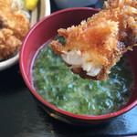 伊豆中ばんばん食堂 - アオサの味噌汁