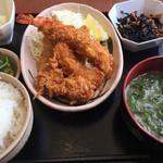 伊豆中ばんばん食堂 - ミックスフライ定食