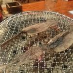 南部ろばた焼き - 烏賊漁師干し焼いてます。