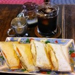瑠奈 - アップルタマゴとアイスコーヒー(100円プラス)で1000円