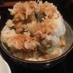 蕎野 - かき揚げ丼