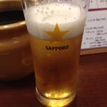 串かつ 赤とんぼ - 生ビール