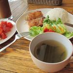 37283166 - スープ(味噌汁)おかわり自由