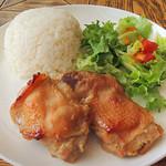 37283204 - ランチセット「鶏の味噌漬け焼き」