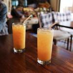 センターフォーハンバーガーズ - グレープフルーツジュース&オレンジジュース☆