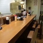 キッチン たか - たまたま他にお客さんがいなかったので店内写真を撮らせてもらいました。