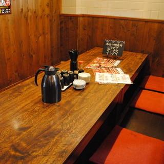 ★テーブル席・カウンター席・小上がり