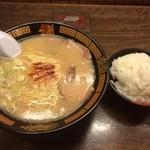 一蘭 - ラーメン(790円)・ご飯(250円)