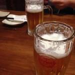 まるさ - オリオン生ビールで乾杯
