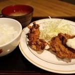 ごはん家 田島 - チキン南蛮と唐揚げ定食