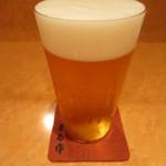 まる作 - 生ビール 400円
