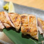なかめのてっぺん - 大山鶏もも塩焼【2015年4月】