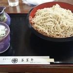手打そば 三芳野 - 大盛り蕎麦
