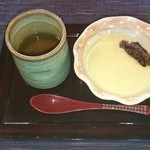 勘四郎 - 豆乳のムース~緑茶風味~ &おから茶