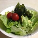 石渡源三郎商店 - サラダで♪