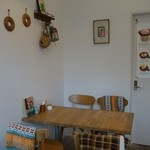 フロレスタ - (2015/3月)イートインのテーブル席