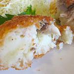 ハナカンラン - サゴシとポテトのフライ タルタルソース