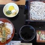 安曇野 - ミニ舞茸丼セット