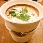 37295479 - 名前失念、ココナッツミルクが利いた辛くないスープ