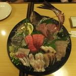 魚海船団 - 刺身大漁盛り合せ