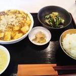 紅天 - 麻婆豆腐定食