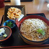 鹿狼の湯 どんぐり - 料理写真:かき揚ざるそば(1,000円)