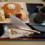 四季喫茶 - 料理写真:パンケーキセット