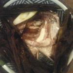 ○気 - 鯛のかぶと昆布蒸し