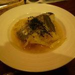 ビッグスリック - 料理写真:鱈とキャベツの蒸し煮