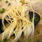 暖暮 - 「チャーシューメン」麺(超かた)