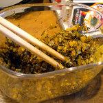 暖暮 - 「暖暮」サービスの辛子高菜